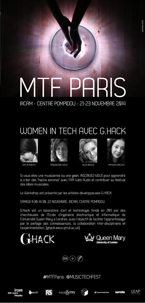 MTF team designed this awesome G.Hack poster (in French and English!)